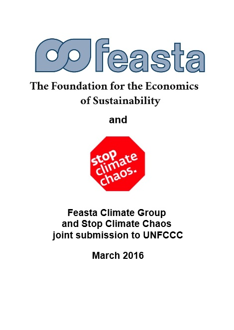 The foundation for the economics and sustainability and stop climate chaos